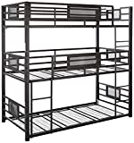 Coaster Home Furnishings Bunk Bed, Black