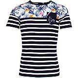 Religion Rugby - T-Shirt Marinière Summer Flower - M