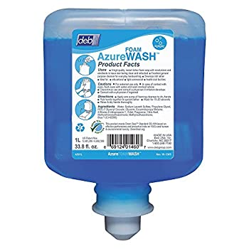 DEB-AZU1L - Deb Refresh Azure FOAM Wash 1000ml Refill 6/CS