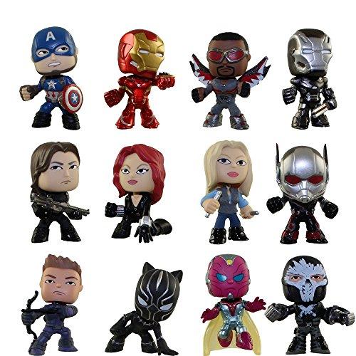 Mystery Mini: Marvel: Capitán América: Civil War: una figura al azar
