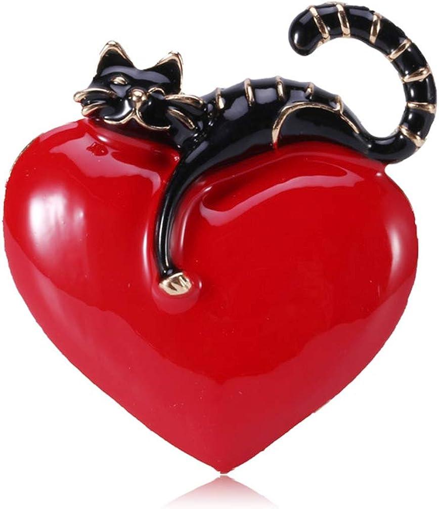 SELOVO Cat Pet Animal Brooch Pin Hat Badges Accessory