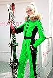 Bewinch Traje De Esquí para Mujer, Damas Invierno Cálido Snowsuit, Una Sola Pieza, Autocultivo, Afile A Prueba A Prueba Transpirable Deportes Al Aire Libre Mejor para El Snowboard De Invierno,XL
