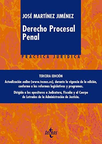 Derecho procesal penal (Derecho - Práctica Jurídica)