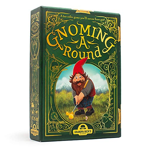Grandpa Beck's Gnoming A Round Card Game | A Fun Family Card Game | Enjoyed by Kids, Teens, &...
