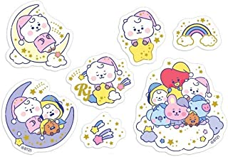 BTS Official Merchandise Baby Mini Decal Stickers 40 Pieces One Set_BTS Photocards Included_Boy with Love Make it Right (...