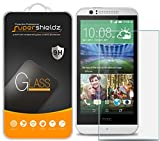 (2 Pack) Supershieldz for HTC Desire 510 and Desire 512 Tempered Glass Screen Protector, Anti Scratch, Bubble Free