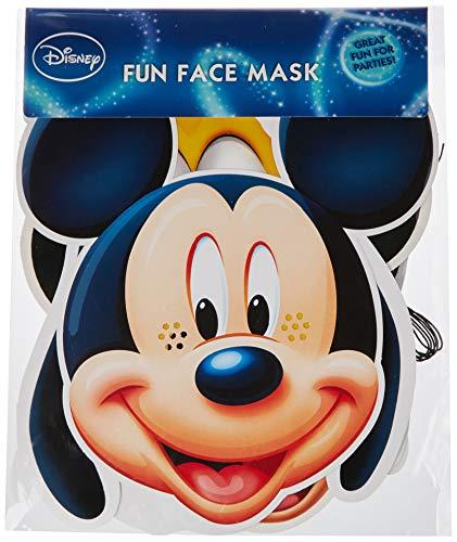 Star Cutouts - Stsmp37 - 6 Masques pour Adulte Personnages - Mickey Et Friends - Taille Unique