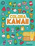Colora Kawaii: Colora, gioca e impara a disegnare irresistibili animali, piante, frutta e insetti in...