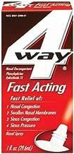 Best 4 way menthol nasal spray Reviews