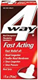 4 Way Nasal Decongestant Nasal Spray, Fast Acting, 1 Fl Oz (Pack of 3)