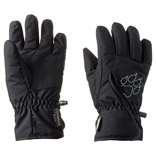 Jack Wolfskin Kinder Handschuhe Easy Entry Glove, Black, 116, 1900162-6000116