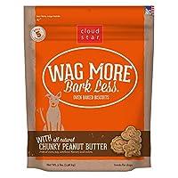 CloudStar Wag More Bark Less Crunchy Peanut Butter Natural No Artificial 3lbs