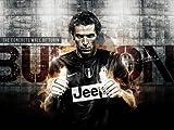 Poster Buffon Juventus Football Club, glänzend, A1, 83,8 x