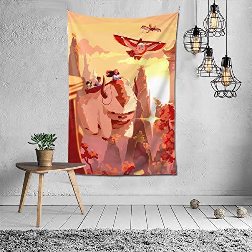 Avatar 3 Wandteppich, Motiv: Avatar The Last Airbender, Anime, maschinenwaschbar, für Außen- und Innenbereich, Schlafzimmer, Wohnzimmer, Wohnheim-Dekoration ... (152,4 x 101,6 cm, Avatar 3)