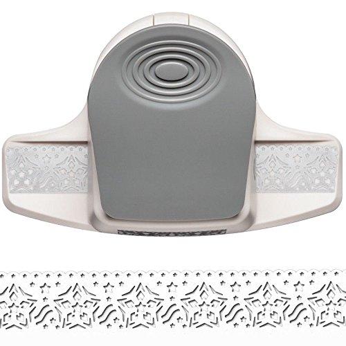 Ideen mit Herz Stanzer, Royal-Bordürenstanzer, Stanzung 2,9 cm x 6 cm | Motiv-Locher für Papier | Basteln (Stern)