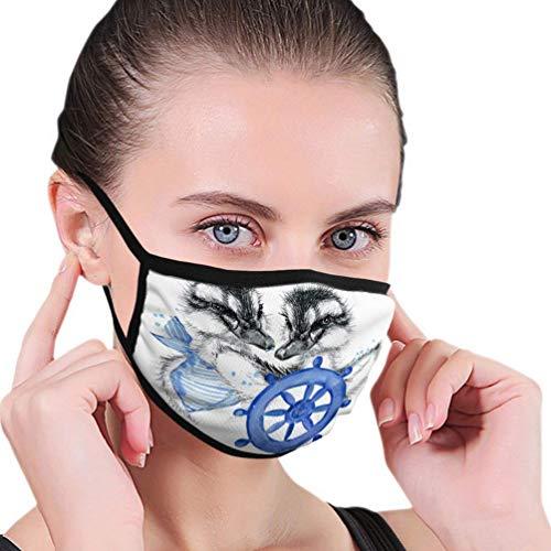 Herbruikbare neushoes, anti-stof warme luchtbeller, half gezicht hoes, schattig eend potlood schets afdrukken schattig eend vrouwen mannen mondhoes, wasbare mondbeschermer, verstelbare oorlussen