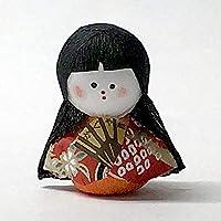 品 日本のおみやげ民芸玩具起き上がりこぼし人形 かぐや姫