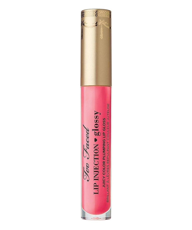 バズシーケンス期待Too Faced Lip Injection Glossy-Let's Flamingle / GLITZ
