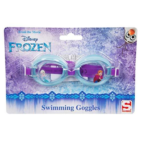 Disney Offizielle Schwimmbrille mit Elsa Anna und Elsa, Sommerurlaub, Schwimmhimmel