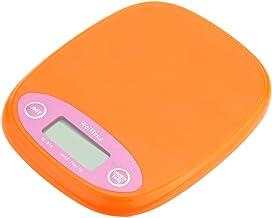 أداة ضبط الوزن للطعام على ميزان الجيب الرقمي الاحترافي من أندور لمستويات التوازن الإلكتروني للبيئة: برتقالي/أبيض