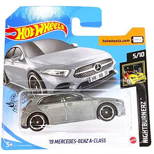 Hot Wheels '19 Mercedes Benz A-Class Night Burnerz 5/10 2020 (194/250) Short Card