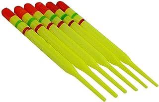 YANODA 10 Unids Flotador De Pesca De La Carpa Establecen Boya Bobber Stick For Aparejos De Pescado Material De Espuma Vertical 10# 0.6g