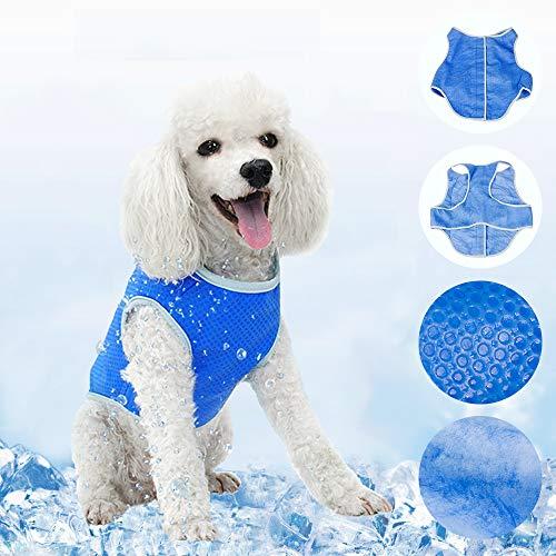 UpPaws 犬 服 夏用 猫服 夏服 夏用 冷感 メッシュ クールベスト Latest design Dog Cat Summer Clothes Cooling Clothes (XS)