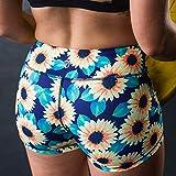 Born Primitive Double Take Booty Shorts (Sunflower)