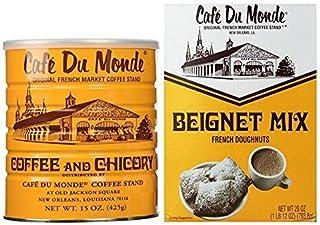 Cafe Du Monde Coffee And Beignet Mix Set � One Can Of Cafe Du Monde Coffee And Chicory And One Box of Beignet Mix