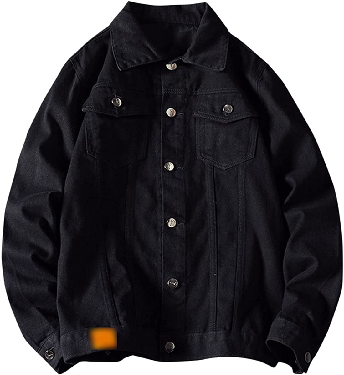 Men's Denim Jacket Trendy Fashion Bomber Jacket Casual Jacket Streetwear