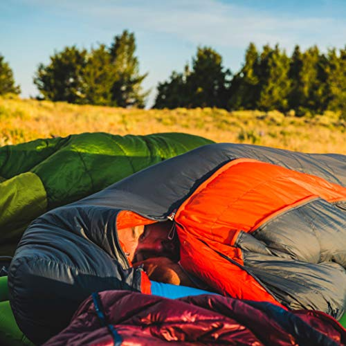 Big Agnes Torchlight Ultralight Sleeping Bag w/850 DownTek for Backpacking and Camping, 20 Degree,...