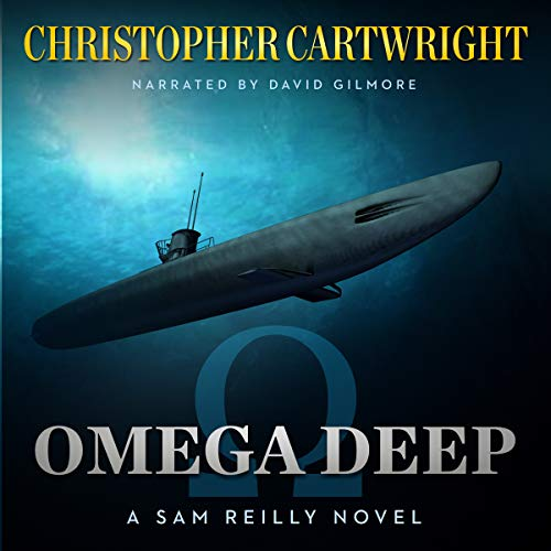 Omega Deep audiobook cover art