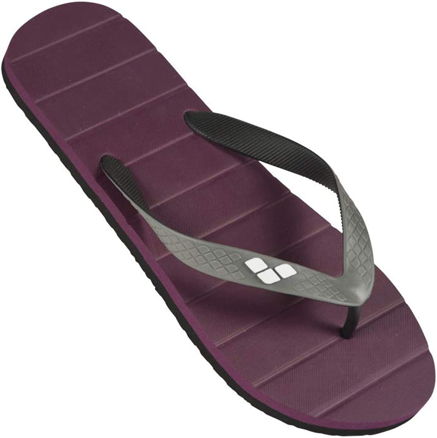 Arena Eddy Men's Pool Flip Flop, Red Wine, 8.5