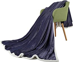Blanket Thickening Fluffy Reversible Velvet Blanket Caring Gift Children and Adults Throw Sofa Blankets,A,200 * 230