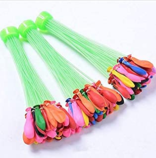 111pcs/bag magic quick filling water balloon bombs for summer beach games