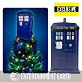 Kurt S. Adler Doctor Who Tardis Light-Up Holiday Tree Topper - Exclusive