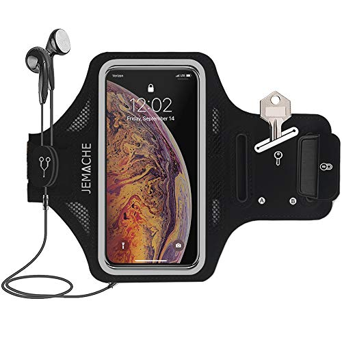 JEMACHE Gym Sporthorloge voor iPhone XS Max, OnePlus 5T/6/6T