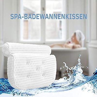 TrustUns Badewannenkissen Nacken 4D