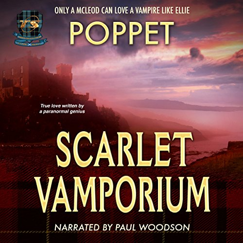 Scarlet Vamporium audiobook cover art