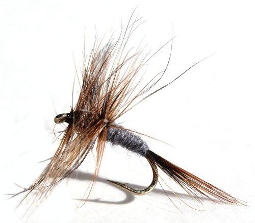 Flies Direct Adams Assortment Trout Fishing Flies (1-Dozen)