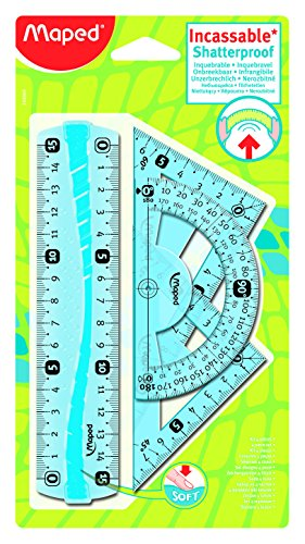 Mapped 244069 Mini kit righe, squadre e goniometro [Italia]