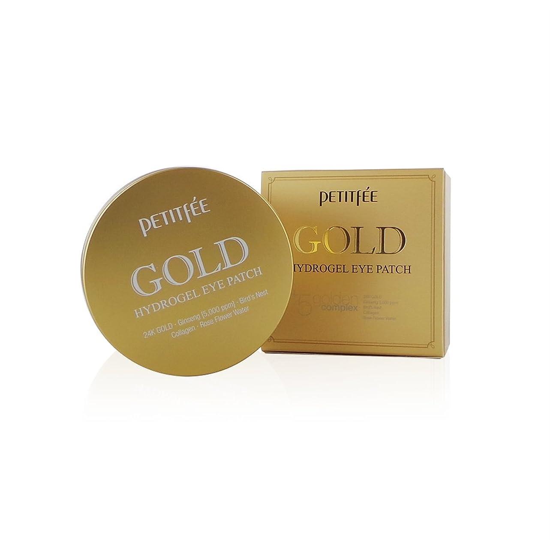 スポンジワンダー領域(6 Pack) PETITFEE Gold Hydrogel Eye Patch (並行輸入品)