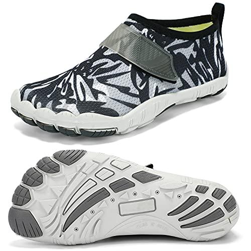 Racqua Kids Water Shoes Boys & Girls Athletic Quick Drying Lightweight Sport Shoes Swim Pool Shoes(Little Kid/Big Kid)