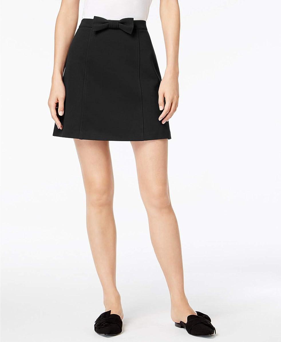 Maison Jules Women's Bowtie Skirt Black Small