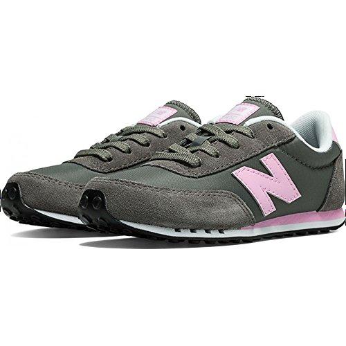 New Balance Kl410 M - Zapatillas deportivas para niña, Gris (gris), 37 EU