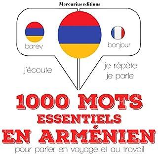 Couverture de 1000 mots essentiels en arménien