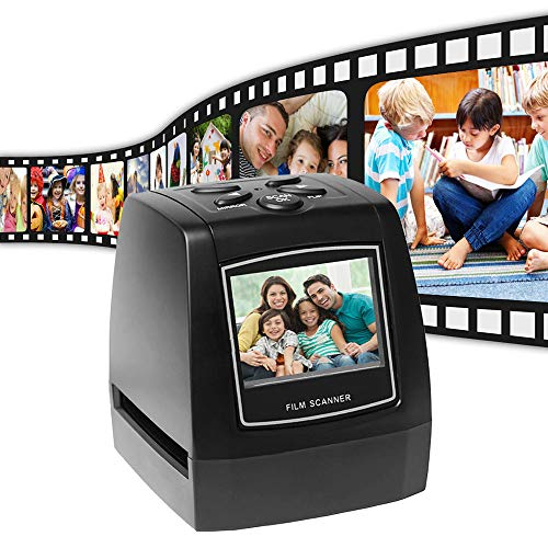 Cheap Zhoumin Film Scanner Portable 5MP 35mm Negative Film Scanner for 35mm Film Slides and Negative...