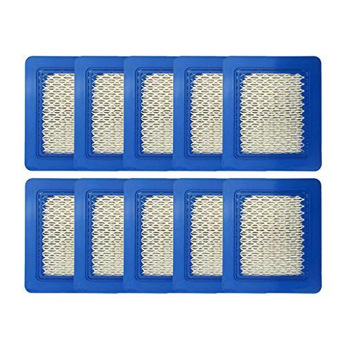 10er Pack Rasenmäher Filter 491588S Luftfilter Von R-WEICHONG
