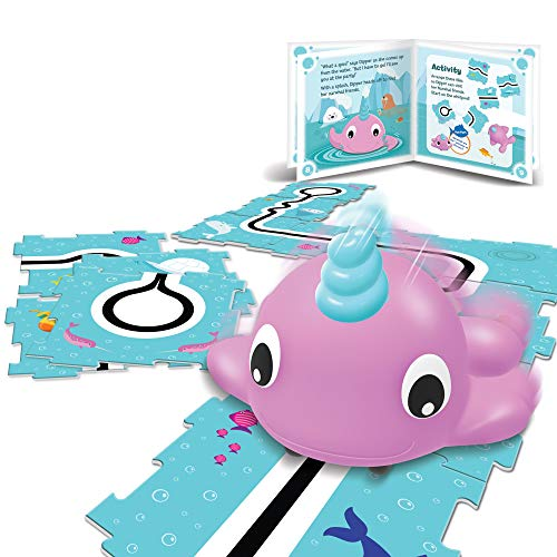 Learning Resources Coding Critters Go Pets Dipper The Narwhal, Early Coding Toy, Ages 4+, Multi
