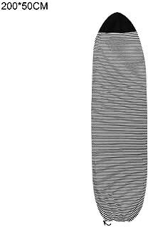 Tenlacum Housse de Surf l/ég/ère Stretch avec Cordon de Serrage et prot/ège-Nez rembourr/é et Pochette pour Planche de Surf 15,2 /à 3 m